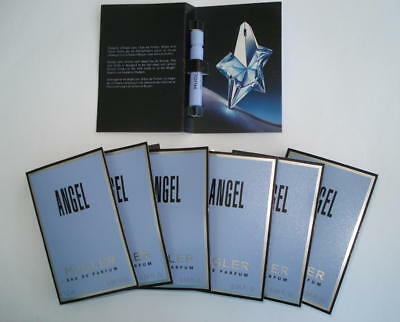 Lot 7 Echantillons Angel  Thierry Mugler Eau De Parfum 1.2 Ml - Tigettes