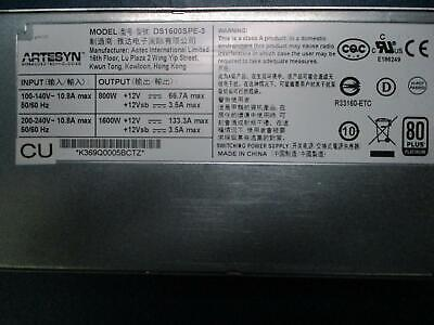 Artesyn Ds1600Spe-3 Power Supply
