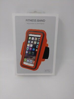 NIP Bits Adjustable Fitness Arm Band Lightweight Neoprene for iPhone 6/s/7