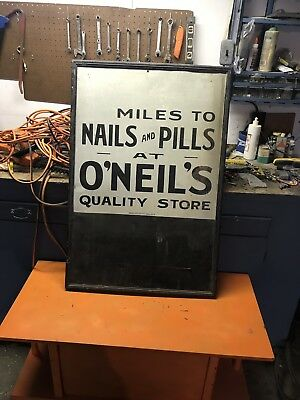 Primitive Hand-Painted Sign Hardware Ithaca Sign Company