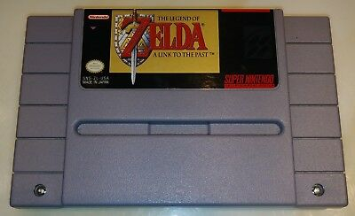 Super Nintendo The Legend of Zelda: A Link to the Past Video Game Cartridge