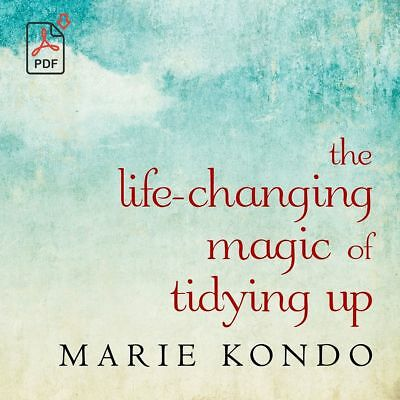 The Life Changing Magic of Tidying up by Marie Kondo [Book PDF ePub]