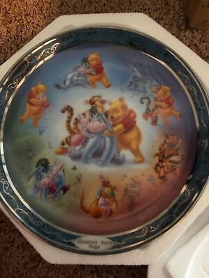 Hundred Acre Wood Bradford Exhange Plate # 9083A