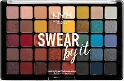 Nyx Swear By It Eyeshadow Palette AUTHENTIC New Sealed 40 Color!