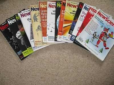 14 x New Scientist magazines bundle Issues from 2008