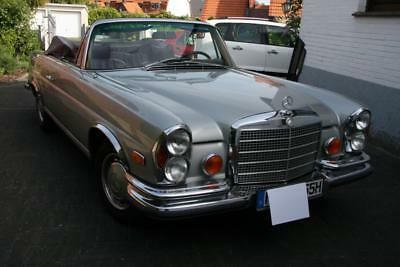 Mercedes Benz 280 SE 3,5 ltr. Cabrio W 111 Coupe Conversion