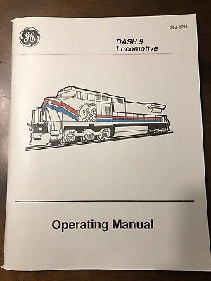 Dash 9 Locomotive Operating Manual
