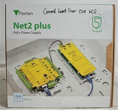 Paxton Net2 Plus PoE+ Power Supply 682-630-US w/ Cabinet