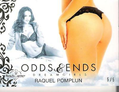 2016 Benchwarmer Odds & Ends Trading Card Raquel Pomplun Dreamgirls 5/5