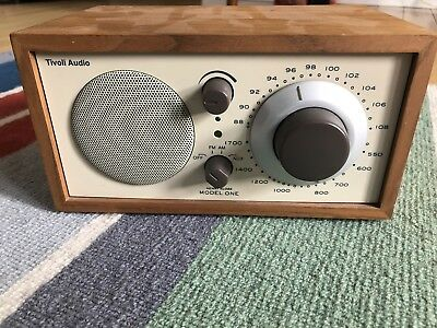 TIVOLI AUDIO MODEL ONE COMPACT AM/FM RADIO (includes power cord)