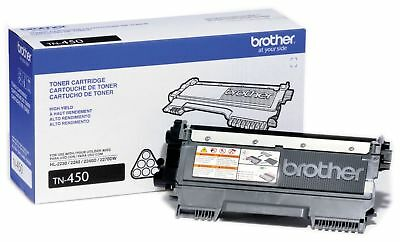 Brother Genuine High Yield Toner Cartridge TN450 Replacement Black Toner Page J1