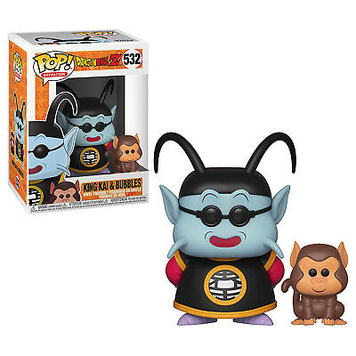Funko Dragon Ball Z POP King Kai And Bubbles Vinyl Figure NEW IN STOCK Toys