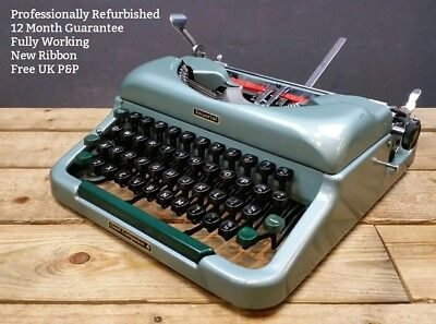 Imperial Good Companion 4 WORKING Vintage 1950s Portable Typewriter REFURBISHED