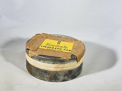 Vintage Kodak Safety Film Linagraph Pan in can Unopened