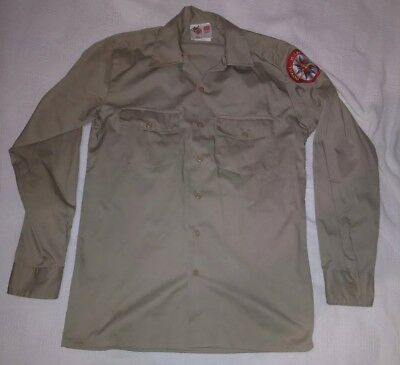 Vintage Royal Rangers Uniform Shirt Size 14 Gospel Publishing House