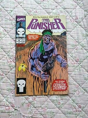 The Punisher 39 comic 1990