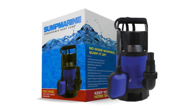 SumpMarine SM10102 1/2HP Clean/ Dirty Water Submersible Pump New
