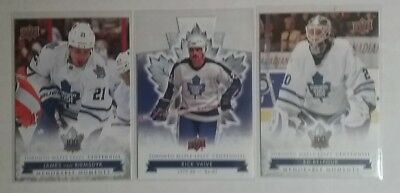 2017 Ud Centennial Toronto Maple Leafs Singles Sp's, Die Cut And Base You Pick