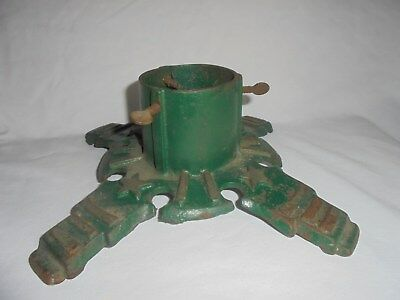 Vintage antique cast iron Christmas tree stand