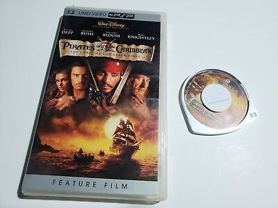 Pirates of the Caribbean The curse of the Black Pearl PsP UMD