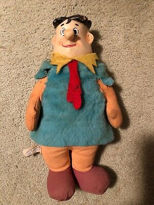 Flintstones 1962 Knickerbocker Fred Flintstone Stuffed Toy HANNA BARBERA