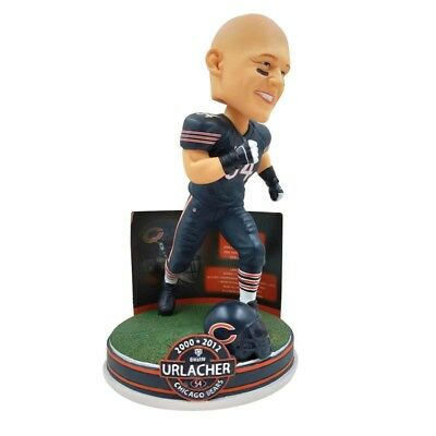 "BRIAN URLACHER Chicago Bears ""Career Stats"" NFL EXCLUSIVE Bobblehead NIB!"