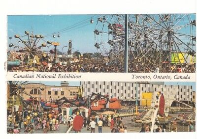 Canadian National Exhibition - Toronto ON - Vintage Chrome Multiview Postcard