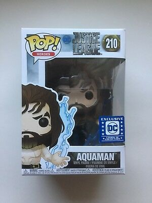Funko POP! Heroes - Aquaman #210 (Legion Of Collectors Special Edition) Rare