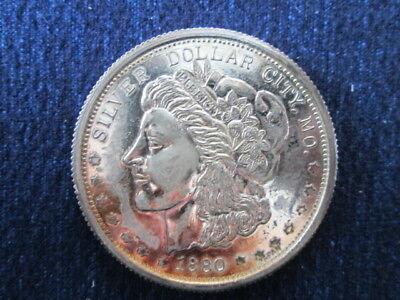 1880 Morgan Silver Dollar City Token