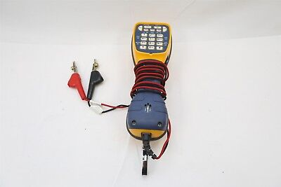 Fluke Networks TS44 Pro 2 Way Lineman Butt Set Testing Kit w/ Piercing Pin Clips