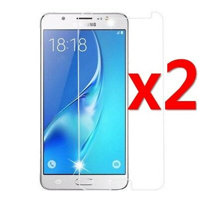 2x Tempered Glass Protective Screen Protector For Samsung Galaxy J4/J6 J8 2018 *