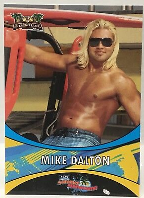2012 FCW Slamarama TYLER BREEZE Rookie Card Mike Dalton NXT WWE SP RC