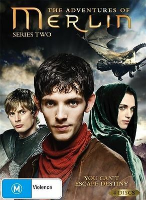 The Adventures Of Merlin Series 2 DVD 2010 4-Disc Set Brand New Sealed