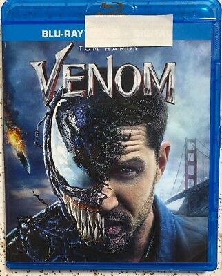 Venom 2018 Blu Ray Only Tom Hardy Spider Man