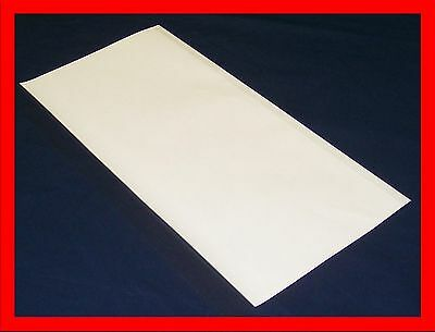 """5 - 12""""x26"""" Brodart Just-a-Fold III Archival Book Jacket Covers - clear mylar"""