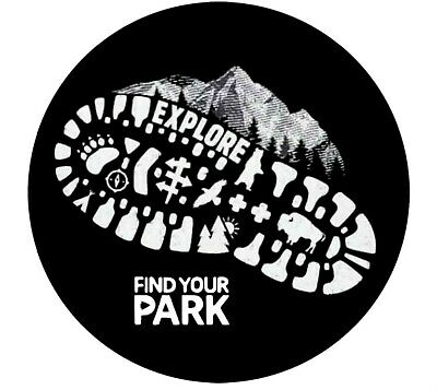 Explore Find Your National Park Patch Souvenir Travel Embroidered Iron / Sew-on