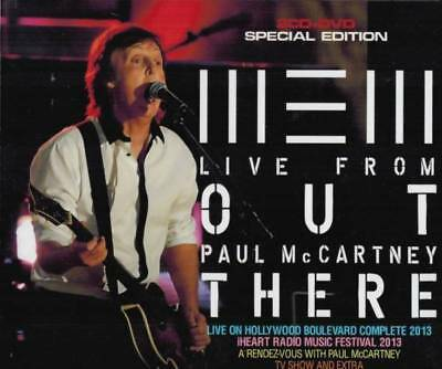 PAUL McCARTNEY / New Live From Out There  (2CD+DVD) BEATLES ■ F/S