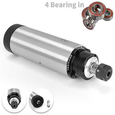 1.5KW ER16 4 Bearing Air cooled Spindle Motor 80mm CNC Mill Engraving