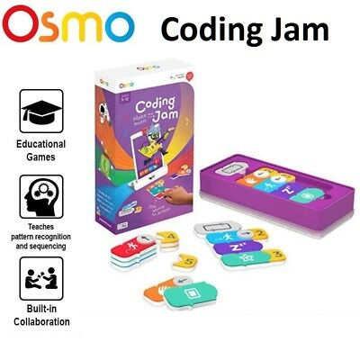 OSMO ADD ON CODING MAKE MUSIC JAM  EDUCATIONAL TOYS CHILDREN GAME Base Required
