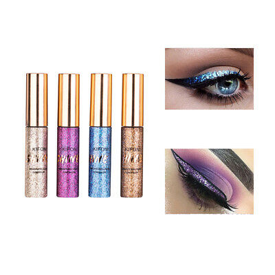 Beauty Shiny Waterproof Eyeshadow Glitter Liquid Eyeliner Makeup Eye Liner Pen