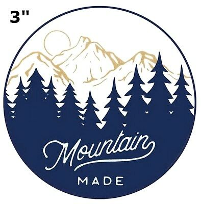 Mountain Made Park Patch Souvenir Travel Embroidered Iron / Sew-on