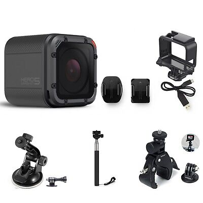 GoPro HERO5 Session HD Action Camera with Accessories and Extras CHDRB-501