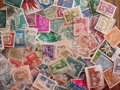 Henry's Stamps - 500 Worldwide Small - 5 Glassines Of 100 Diff. Each - Used/off
