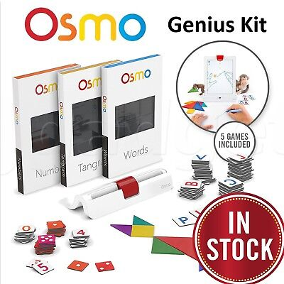 Genuine Osmo Genius Kit Education Game System for iPad 2 3 4/Air/Air 2/Mini Pro