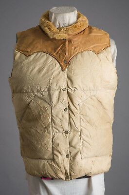 VTG Rocky Mountain Featherbed Quilted Vest Jacket Size 11/12