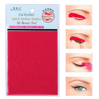 Accessory Stickers Eyeliner Line Tool Eyebrow Mold Drawing Makeup Eye Stencils