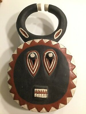 Baule Ivory Coast Carved Wooden Mask