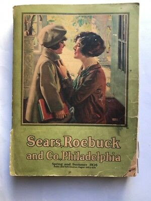 Vtg.Sears, Roebuck and Co Catalog No 152 Spring and Summer 1926 946 Pages Illus