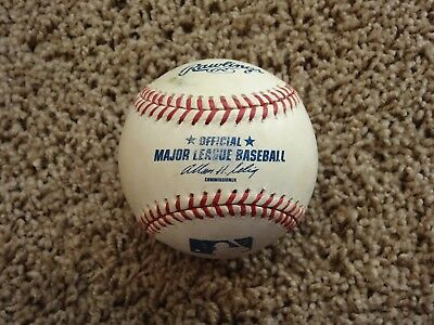 Rawlings Official MLB Major League Baseball~BATTING PRACTICE BALL w/ Autograph