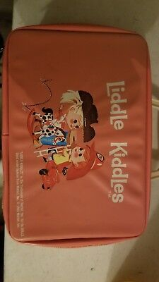 1960's Liddle Kiddle's Pink Vinyl Lunch Box